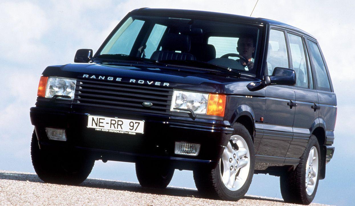 Range Rover - Bildquelle: usage Germany only, Verwendung nur in Deutschland