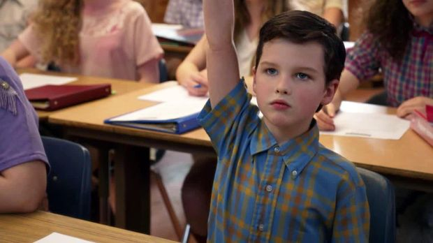 Young Sheldon - Young Sheldon - Staffel 1 Episode 1: Sheldon, Newton Und Euklid