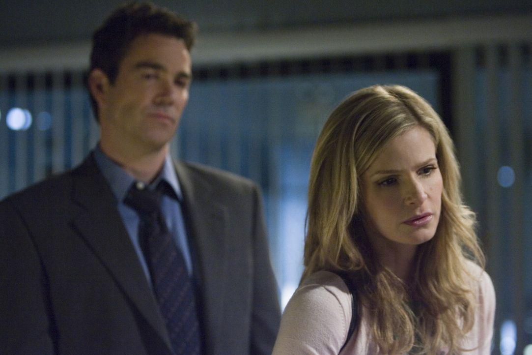 Immer wenn Brenda (Kyra Sedgwick, r.) und Fritz (Jon Tenney, l.) zusammenarbeiten, ist Ärger vorprogrammiert ... - Bildquelle: Warner Brothers