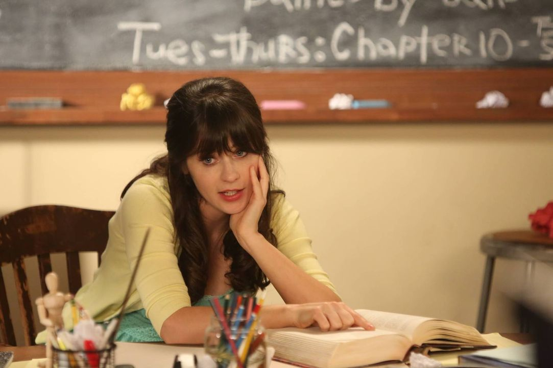 Bekommt am Tag vor Ceces Hochzeit eine große Chance auf einen neuen Job: Jess (Zooey Deschanel) ... - Bildquelle: 2013 Twentieth Century Fox Film Corporation. All rights reserved