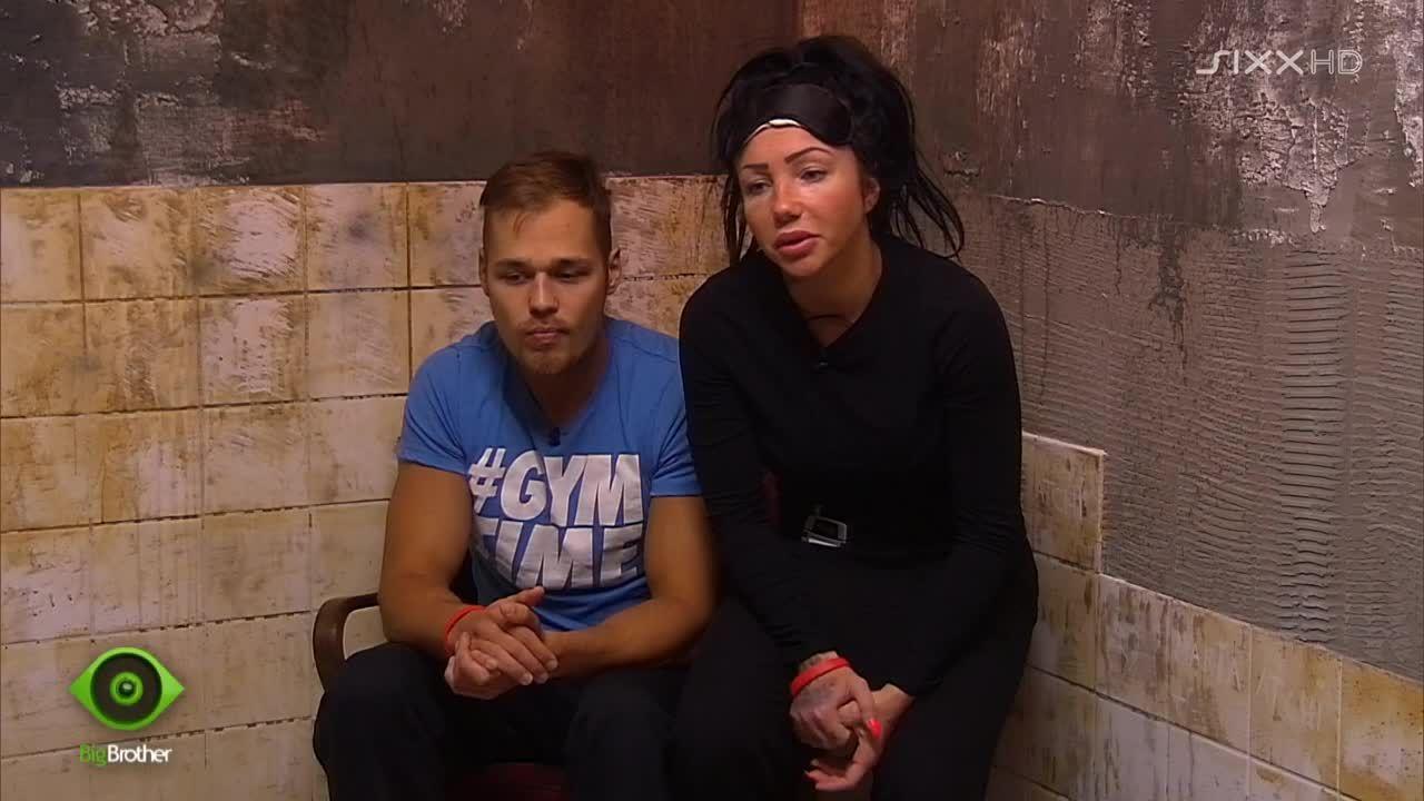 Christian und Lusy sind wieder im Strafbereich - Bildquelle: sixx