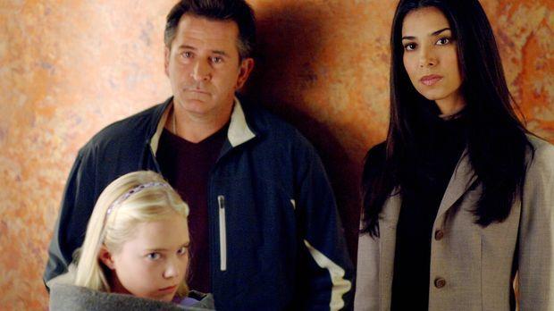 Was musste die kleine Melissa (Danielle Chuchran, l.) die letzten Tage durchm...