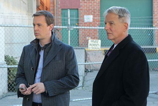 Ein neuer Fall wartet auf Gibbs (Mark Harmon, r.) und McGee (Sean Murray, l.)...