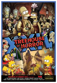 Die Simpsons - Treehouse of Horror XXIV - Plakatmotiv - Bildquelle: 2013 Twen...