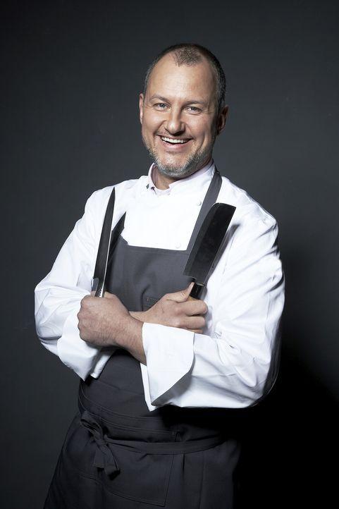 Sternekoch Frank Rosin will es Fast Food-Freunden beweisen: Er ist schneller, günstiger und vor allem besser als jeder Lieferservice ... - Bildquelle: kabel eins