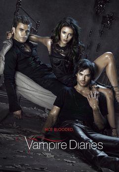 Vampire Diaries - (2. Staffel) - Vampire Diaries: Damon (Ian Somerhalder, r.)...