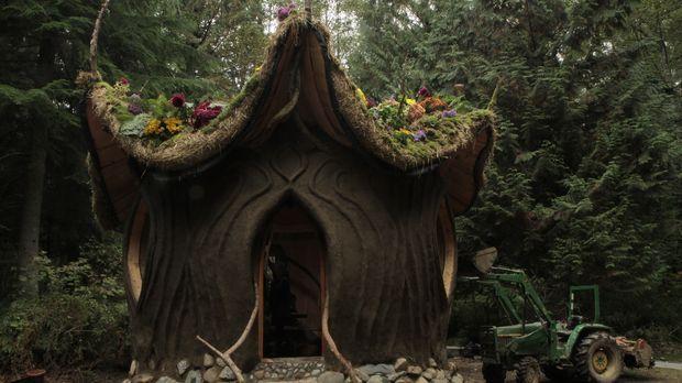 Ein komplettes Haus aus Baustoffen, die die Natur liefert: das Lehmhaus ... ©...