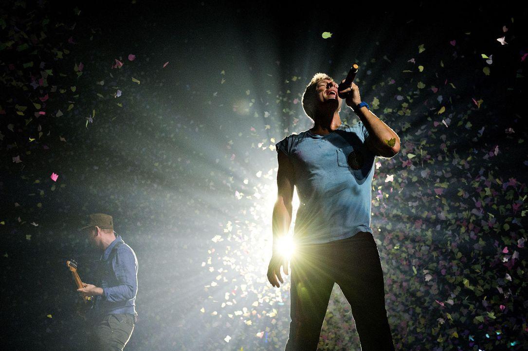 Platz 5: Coldplay - Bildquelle: AFP
