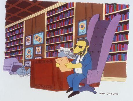 Die Simpsons - Ringo Starr ist völlig begeistert von Marges  Zeichentalent. I...