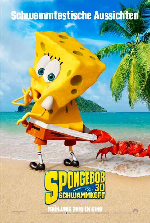 SpongeBob-Schwammkopf-3D-Paramount-Pictures-Germany-GmbH - Bildquelle: Paramount Pictures Germany GmbH