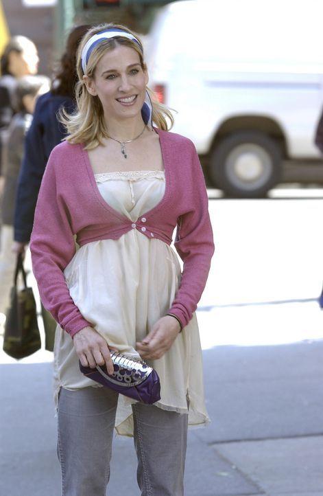 Unglücklicherweise muss Carrie (Sarah Jessica Parker) ihre Wochenenden immer noch alleine verbringen. Da naht ein richtiges Date ... - Bildquelle: Paramount Pictures