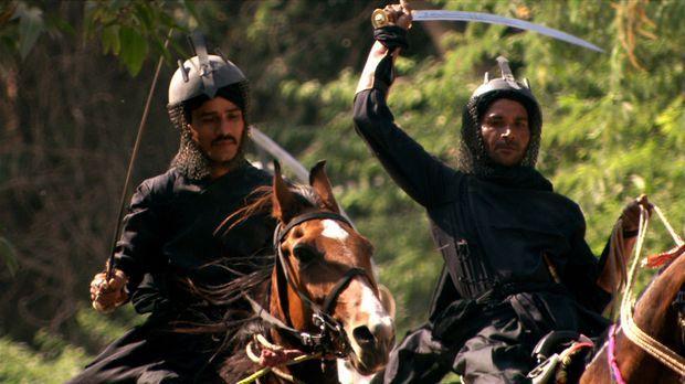 Von 1526 bis 1858 sind die Mogule eine Dynastie der nomadischen asiatischen H...