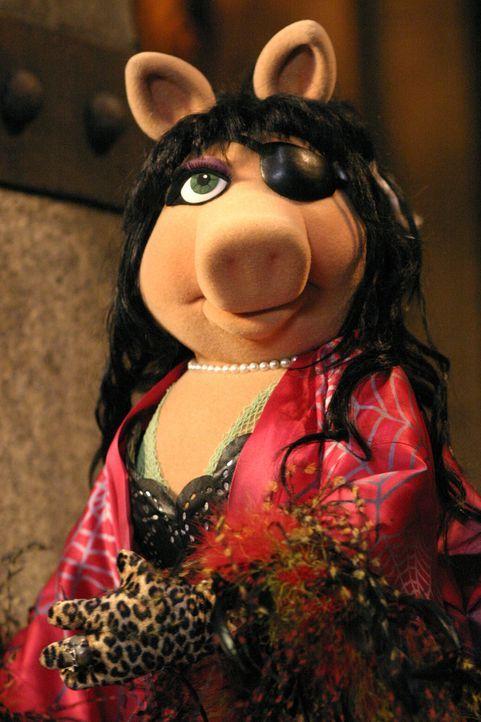 Noch ahnt die böse Hexe nicht, dass sie ein qualvolles Ende erwartet ... - Bildquelle: The Muppets Holding Company, LLC. MUPPETS characters and elements are trademarks of the Muppet Holding Company, LLC.  All rights reserved