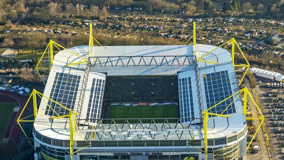 Signal Iduna Park um 700 Plätze vergrößert - Bildquelle: SID-SID-PIXATHLONeuroluftbild.deHans Blossey