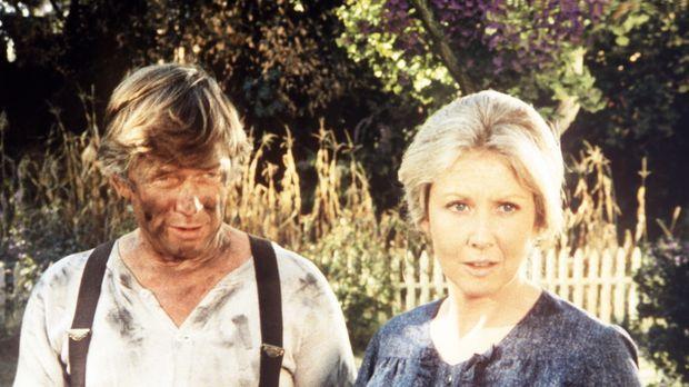 Vater John Walton (Ralph Waite, l.) und Mutter Olivia Walton (Michael Learned...