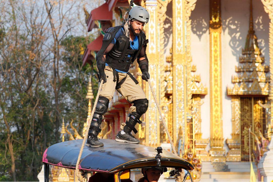 Global Gladiators Manuel Cortez (4) - Bildquelle: ProSieben/Richard Hübner