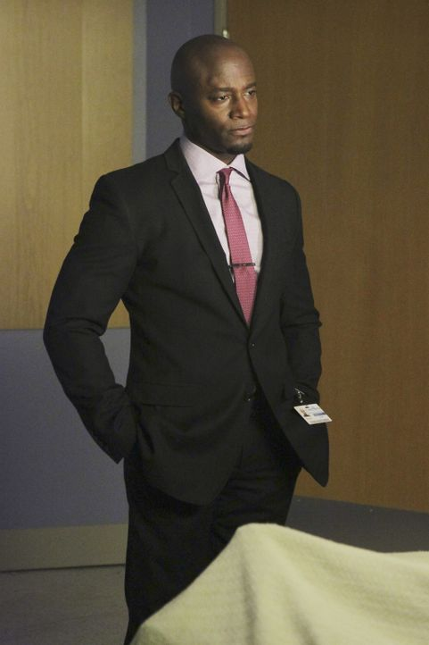 Steht vor einer schwierigen Entscheidung: Sam (Taye Diggs) ... - Bildquelle: ABC Studios