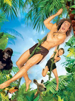 George, der aus dem Dschungel kam 2 - George (Christopher Showerman, oben) br...