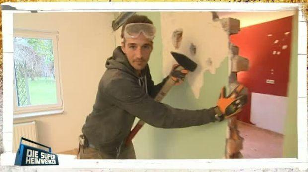 die super heimwerker video profi tipps wand einrei en kabeleins. Black Bedroom Furniture Sets. Home Design Ideas