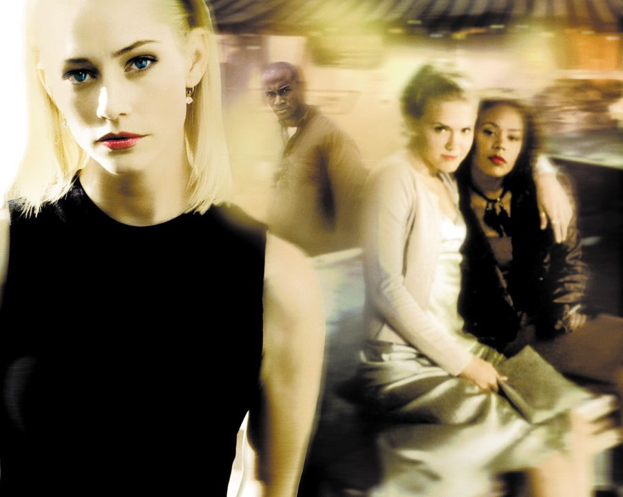 Gefährliche Freundinnen - Artwork - (v.l.n.r.) Hadley (Meredith Monroe), Sidney (Dominique Swain) und Julianne (Rachel True) ... - Bildquelle: 2003 Sony Pictures Television International. All Rights Reserved.