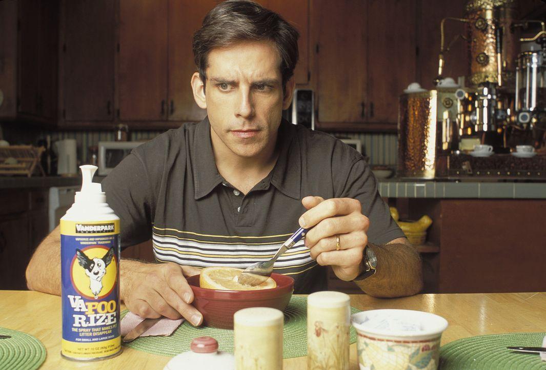 Mit lächerlichen 2000 Dollar könnte Tim (Ben Stiller) sich an der Erfindung seines Freundes Nick beteiligen. Doch Tim hält diese für eine Schnap... - Bildquelle: Sony 2007 CPT Holdings, Inc.  All Rights Reserved.
