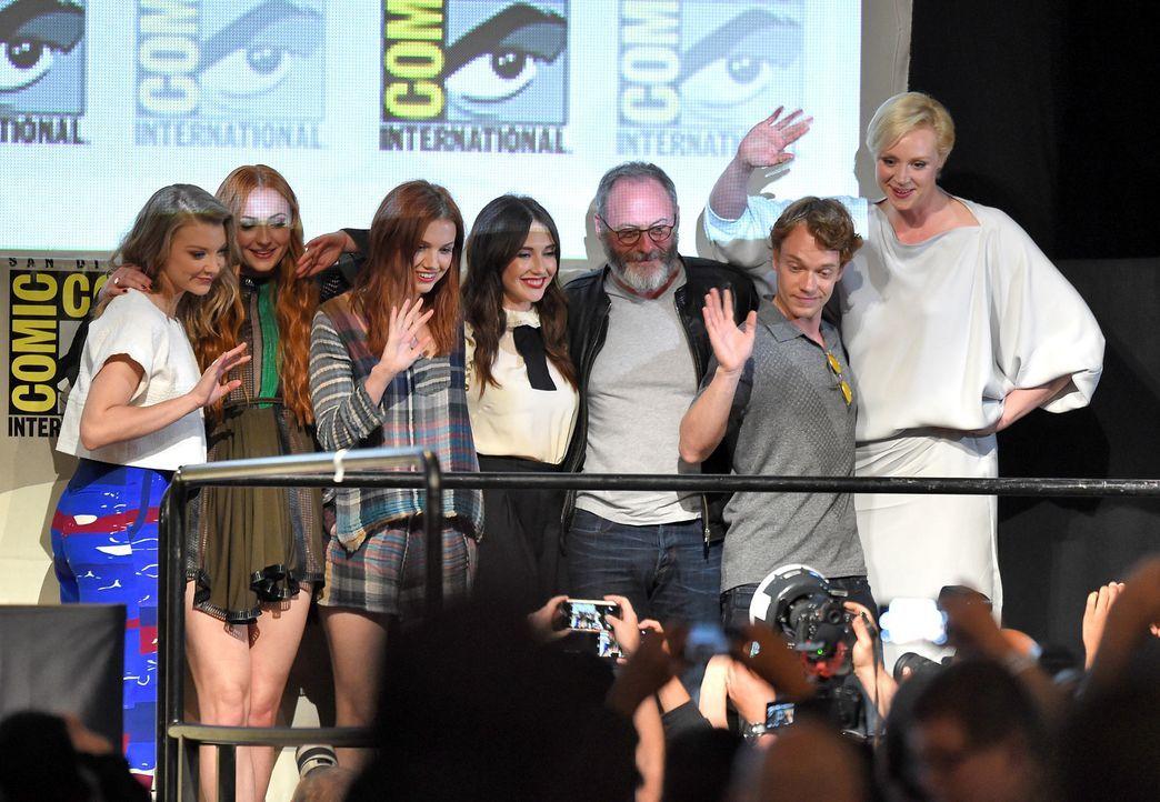 Comic-Con-2015-07-GOT-getty-AFP - Bildquelle: getty-AFP