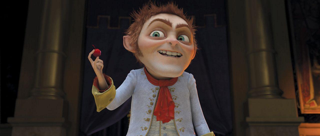 Das boshafte Rumpelstilzchen (Bild) ordnet seiner Hexenarmee an, weiter Jagd auf Oger zu machen ... - Bildquelle: 2012 DreamWorks Animation LLC. All Rights Reserved.