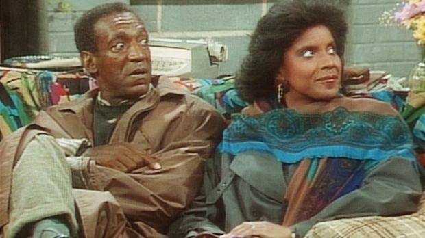 Entsetzt reagieren Cliff (Bill Cosby, l.) und Clair (Phylicia Rashad, r.) auf...
