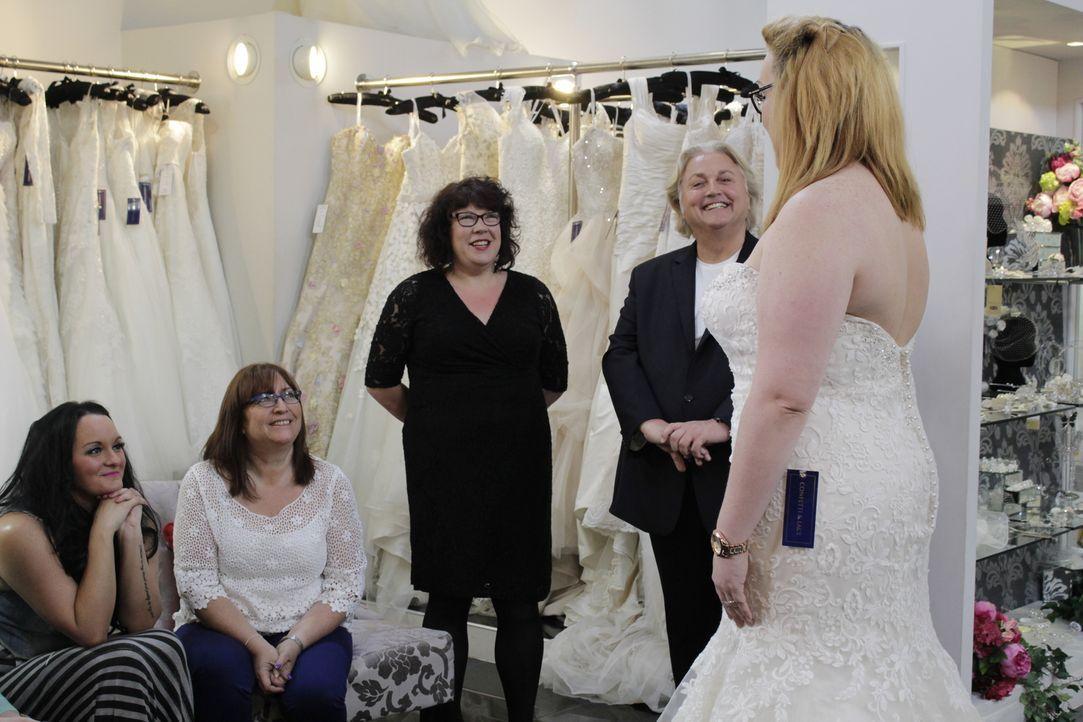 Jede Braut will an ihrem Hochzeitstag wunderschön aussehen. Braut Katie ist ... - Bildquelle: TLC & Discovery Communications