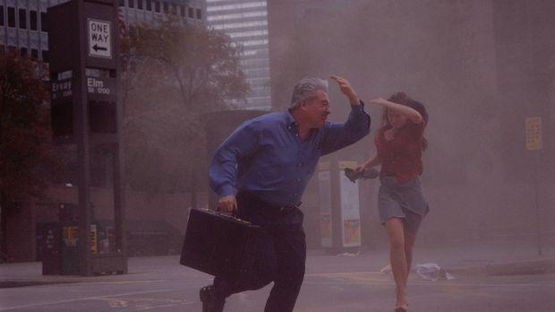 Die Großstadt Dallas liegt mitten in der berüchtigten 'Tornado Alley', der Re...
