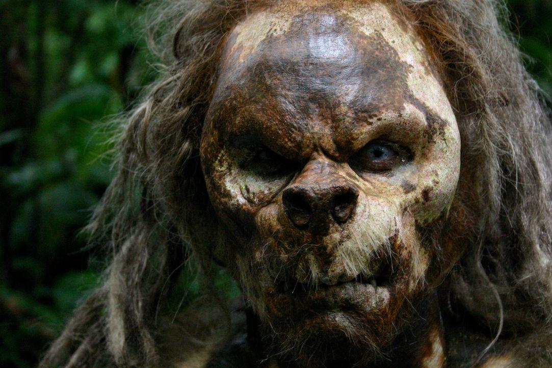 """Im Dickicht der Insel lebt ein uralter """"vergessener"""" Stamm, der sich mit Vorliebe von Menschenfleisch ernährt. Eines Tages landet nach einem Bootsun... - Bildquelle: Voltage Pictures"""