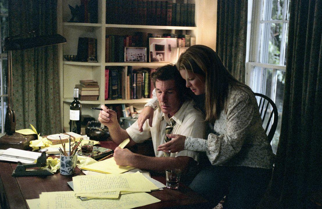 Auch wenn das Vorhaben ihres Mannes (Richard Gere, l.) noch so verrückt klingt, Edith (Marcia Gay Harden, r.) steht hinter ihm und verspricht, ihn... - Bildquelle: 2006 Miramax Films.