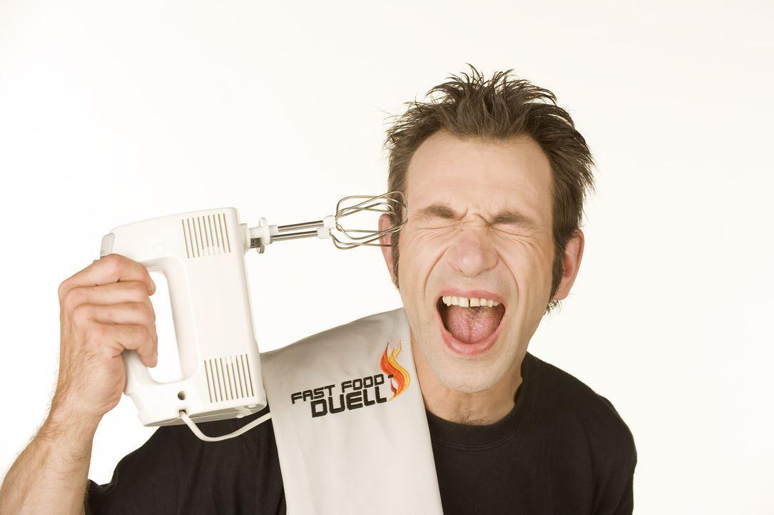 """Das Motto von Küchenrocker Ole Plogstedt: """"Nie den Spaß verlieren, sonst gelingt es nicht!"""" - Bildquelle: kabel eins"""