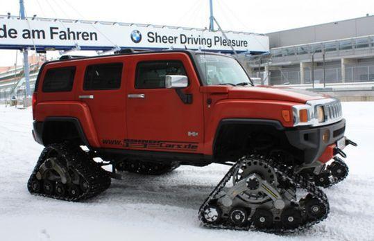 Abenteuer Auto - Mit dem Ketten-Hummer auf der Nordschleife! Ein Achtzylinder...