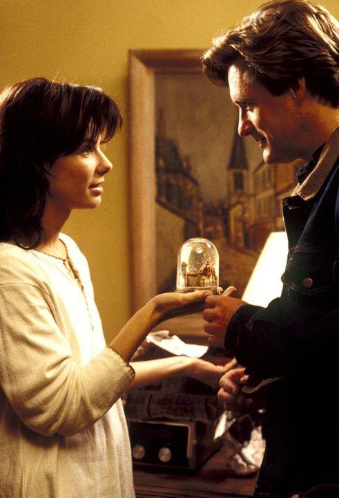 Erst spät erkennt Lucy Eleanor Moderatz (Sandra Bullock, l.), dass Jack (Bill Pullman, r.) ein richtig liebenswerter Kerl ist ... - Bildquelle: Michael P. Weinstein Hollywood Pictures. All Rights Reserved.
