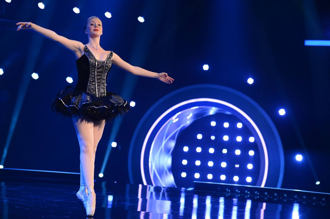 Mit ihrer ganz eigenen Performance will Charleen überzeugen ... - Bildquelle: Willi Weber SAT.1/ProSieben
