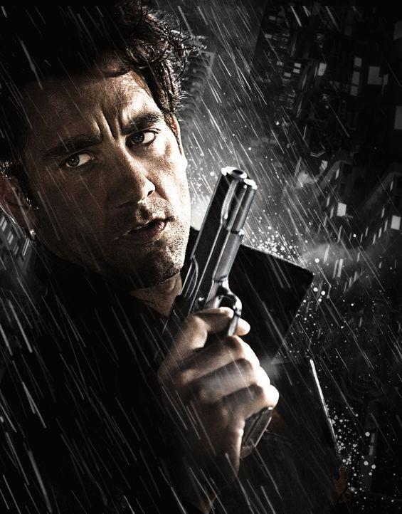 Privatdetektiv Dwight (Clive Owen) gerät in einen Strudel aus Gewalt, als er sich auf die Seite von einigen Prostituierten schlägt ... - Bildquelle: Dimension Films