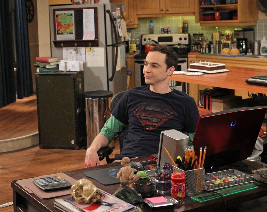 Als Sheldon (Jim Parsons) erfährt, dass seine Lieblingsserie abgesetzt wurde, gerät er in eine Krise ... - Bildquelle: Warner Bros. Television