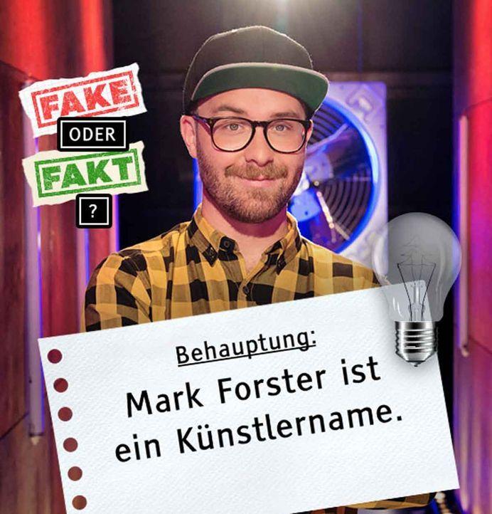 Bild 2_Fake-oder-Fakt-Quiz_Mark-Forster_Behauptung1_cut - Bildquelle: © SAT.1/Andre Kowalski