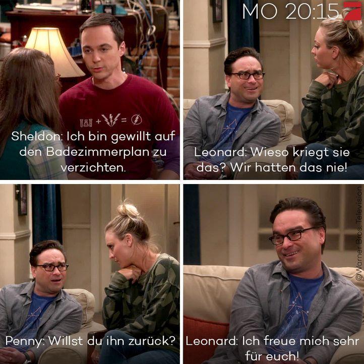 The Big Bang Theory - Die besten Sprüche: Staffel 10 Episode 5 - Bildquelle: Warner Bros. Television