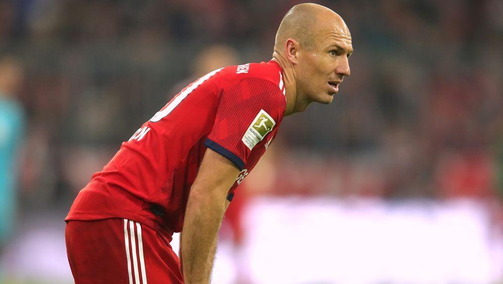 Arjen Robben droht in Dortmund auszufallen - Bildquelle: PIXATHLONPIXATHLONSID