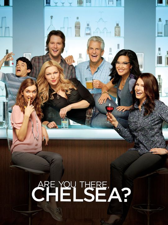(1. Staffel) - Are You There, Chelsea? -  Plakatmotiv - Bildquelle: Warner Brothers