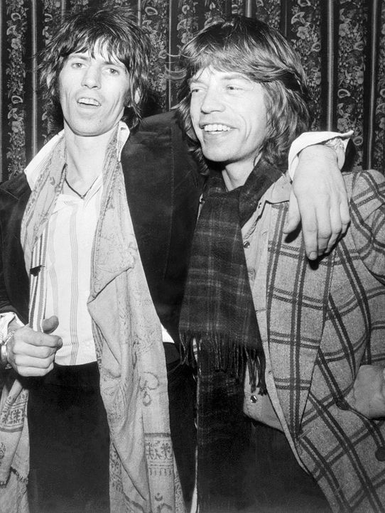 Keith-Richards-Mick-Jagger-1977-01-12--AFP - Bildquelle: AFP