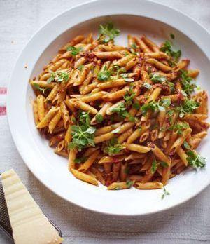 Leckere und leichte Pasta schnell gezaubert von Jamie Oliver