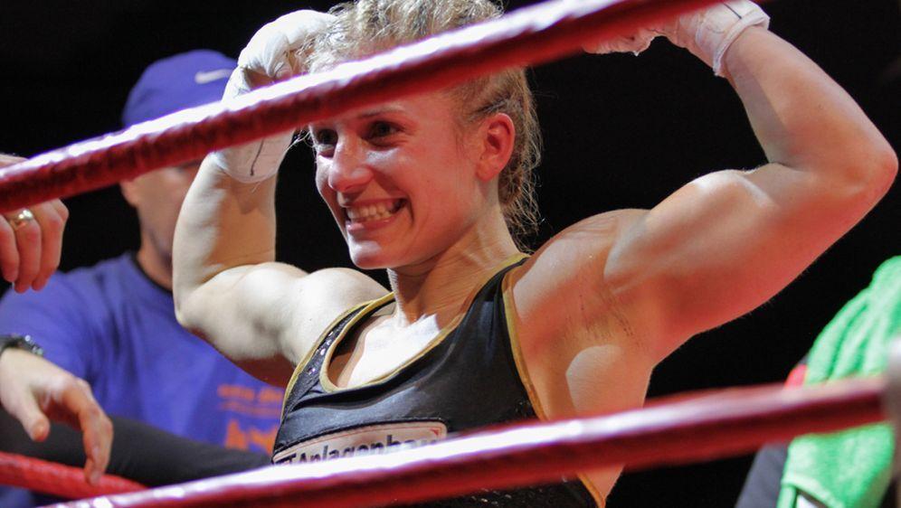 Erste Titelverteidigung: Tina Rupprecht.