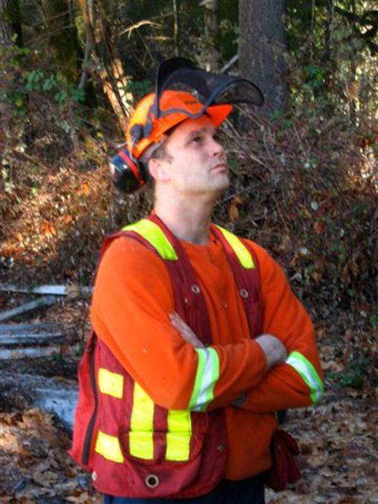 Gord Closson ist der Chef eines Heli-Logger-Teams. Die Arbeit der tollkühnen Holzfäller gehört zu den gefährlichsten Jobs der Welt ... - Bildquelle: Josh Gonyea kabel eins