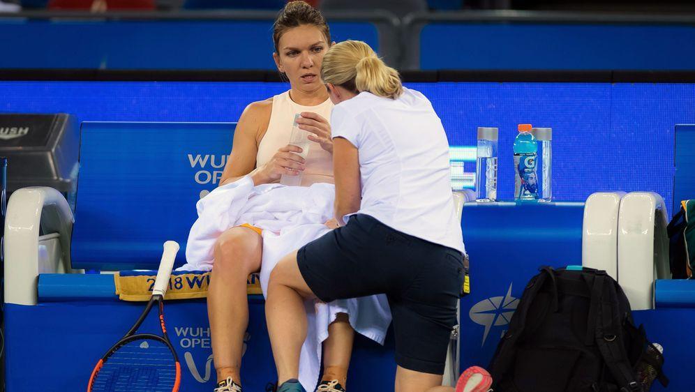 Simona Halep musste in Peking verletzt aufgeben - Bildquelle: Imago