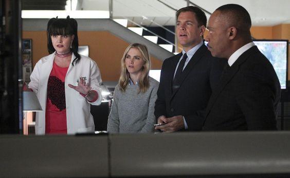 Navy CIS - Ein neuer Fall wartet auf das Team: Abby (Pauley Perrette, l.), El...