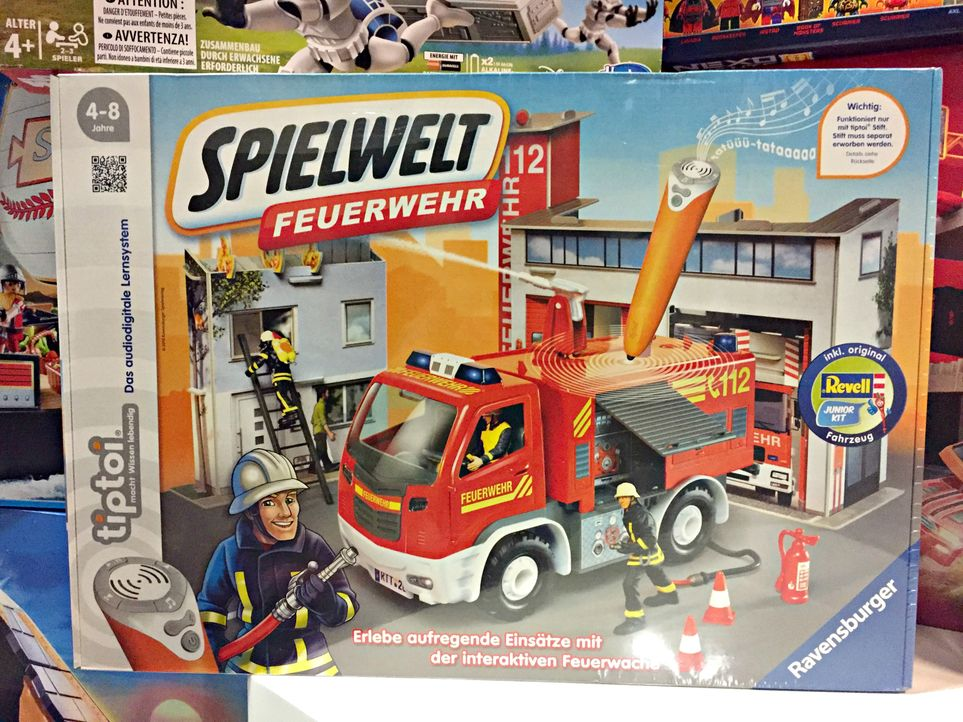 """2. """"tiptoi Spielwelt Feuerwehr"""" von Ravensburgerca. 59,99€"""