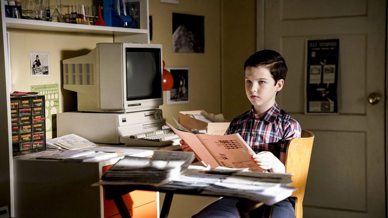 Sheldon (Iain Armitage) - Bildquelle: Warner Bros.